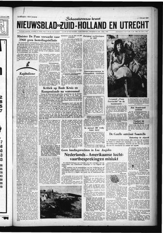 Schoonhovensche Courant 1960-02-05