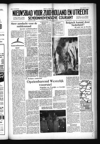 Schoonhovensche Courant 1954-02-12