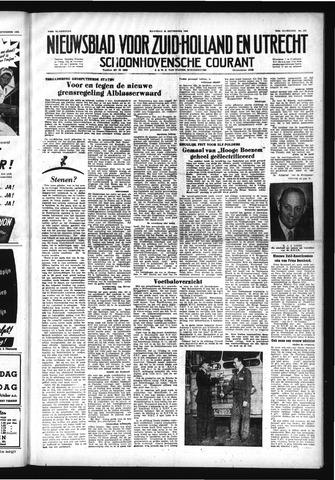 Schoonhovensche Courant 1952-09-29