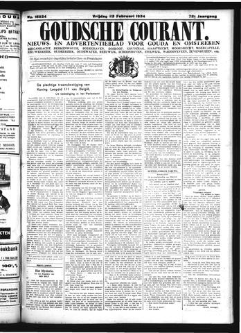 Goudsche Courant 1934-02-23