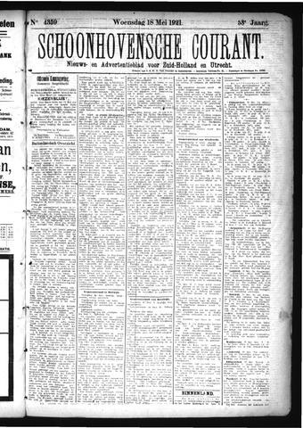 Schoonhovensche Courant 1921-05-18