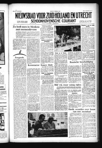 Schoonhovensche Courant 1957-02-08