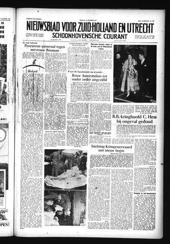 Schoonhovensche Courant 1956-10-19