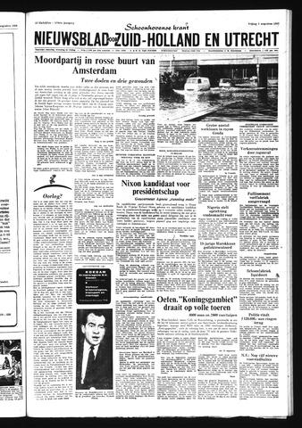 Schoonhovensche Courant 1968-08-09