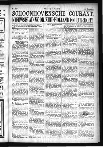 Schoonhovensche Courant 1927-05-16