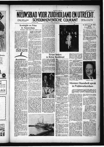 Schoonhovensche Courant 1956-04-23