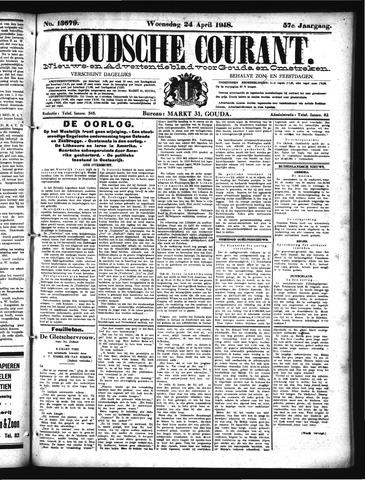 Goudsche Courant 1918-04-24