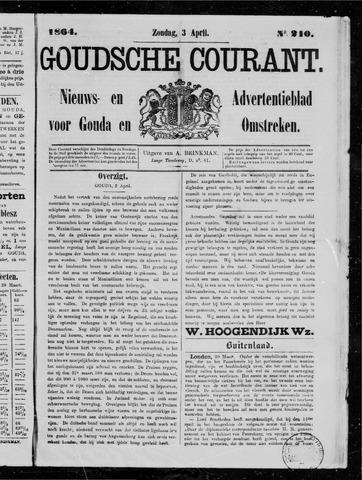 Goudsche Courant 1864-04-03