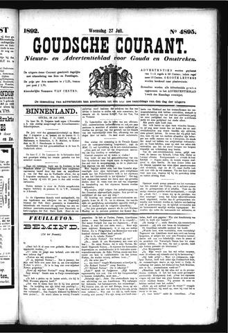 Goudsche Courant 1892-07-27