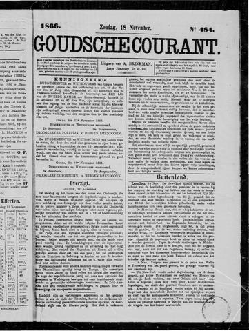 Goudsche Courant 1866-11-18