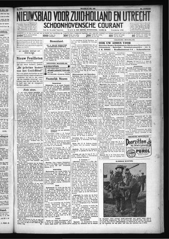 Schoonhovensche Courant 1931-07-31