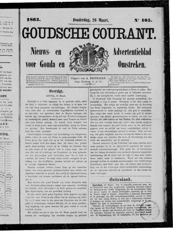 Goudsche Courant 1863-03-26