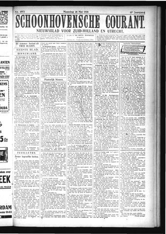 Schoonhovensche Courant 1925-05-25