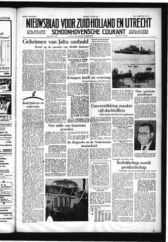 Schoonhovensche Courant 1955-03-18