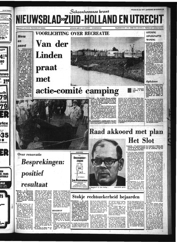 Schoonhovensche Courant 1977-07-29