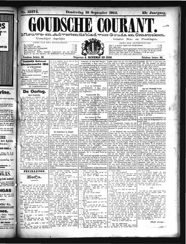 Goudsche Courant 1914-09-10