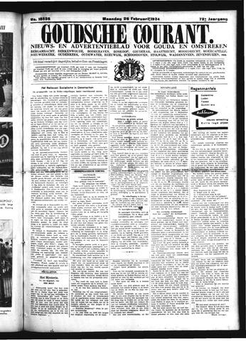 Goudsche Courant 1934-02-26
