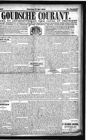 Goudsche Courant 1922-05-27