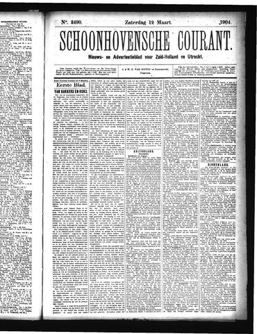 Schoonhovensche Courant 1904-03-12