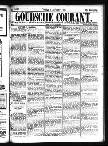 Goudsche Courant 1920-11-05