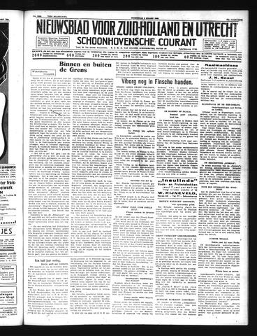 Schoonhovensche Courant 1940-03-06
