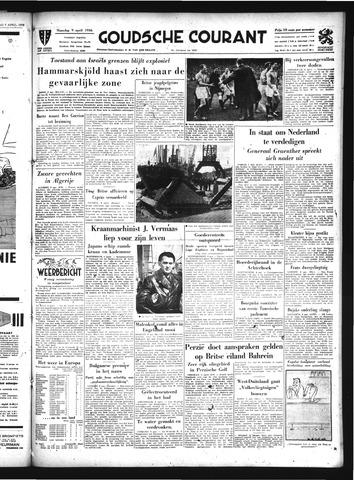 Goudsche Courant 1956-04-09
