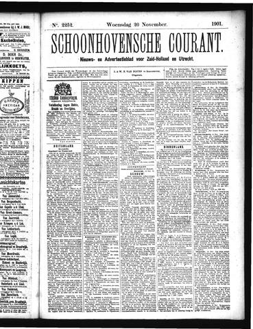 Schoonhovensche Courant 1901-11-20