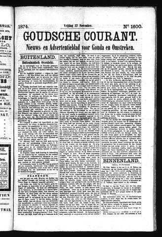 Goudsche Courant 1874-11-27
