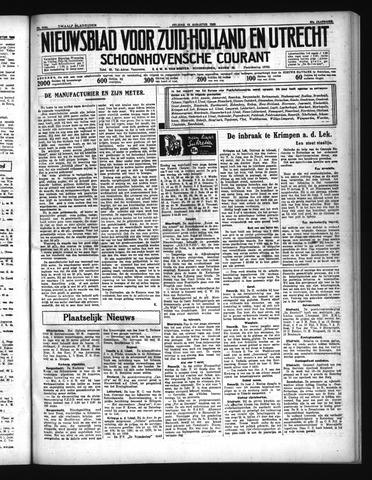 Schoonhovensche Courant 1935-08-16