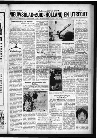 Schoonhovensche Courant 1960-02-12