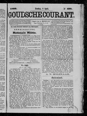 Goudsche Courant 1866-04-08