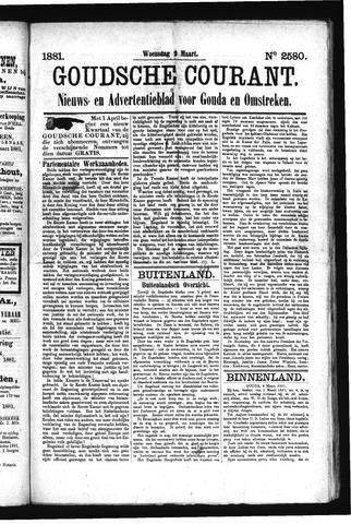 Goudsche Courant 1881-03-09