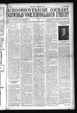 Schoonhovensche Courant 1927-08-01