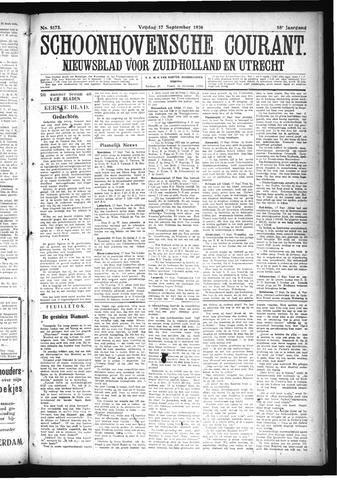 Schoonhovensche Courant 1926-09-17