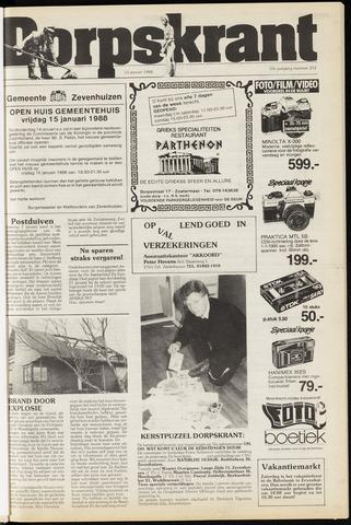 Dorpskrant 1988-01-13
