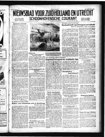 Schoonhovensche Courant 1950-05-05
