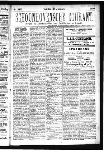 Schoonhovensche Courant 1920-01-23
