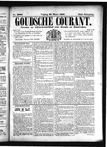 Goudsche Courant 1903-03-20