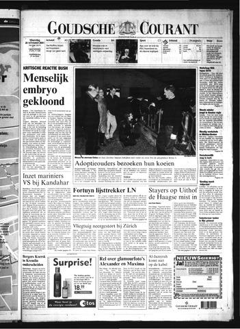 Goudsche Courant 2001-11-26