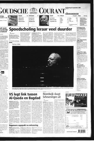 Goudsche Courant 2002-09-26