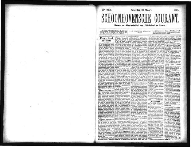 Schoonhovensche Courant 1904-03-26