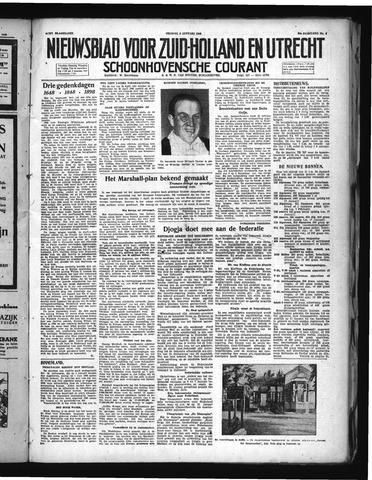 Schoonhovensche Courant 1948-01-09