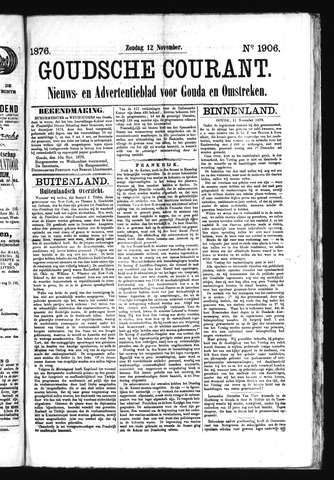 Goudsche Courant 1876-11-12