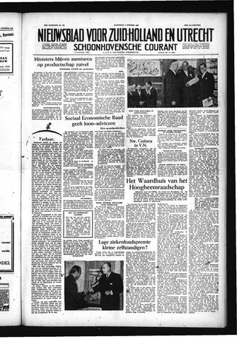 Schoonhovensche Courant 1955-10-05