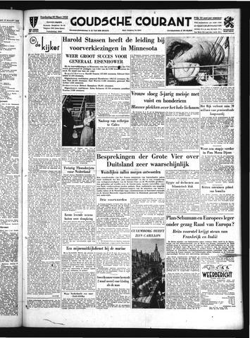 Goudsche Courant 1952-03-20