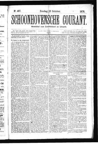 Schoonhovensche Courant 1878-10-13