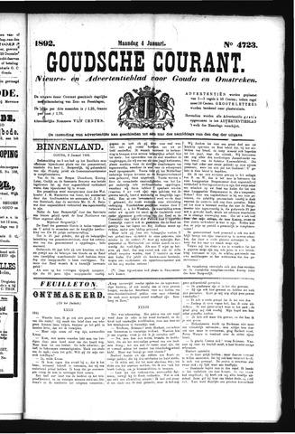 Goudsche Courant 1892-01-04