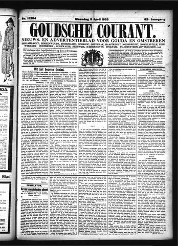 Goudsche Courant 1923-04-09