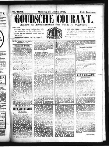 Goudsche Courant 1909-10-25