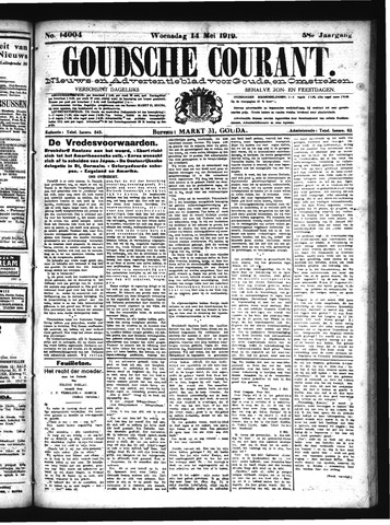 Goudsche Courant 1919-05-14